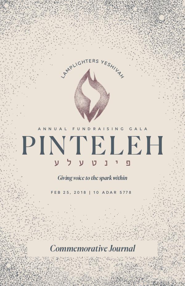 Pinteleh Gala Journal - Feb 25th, 2018 Final Pinteleh Journal