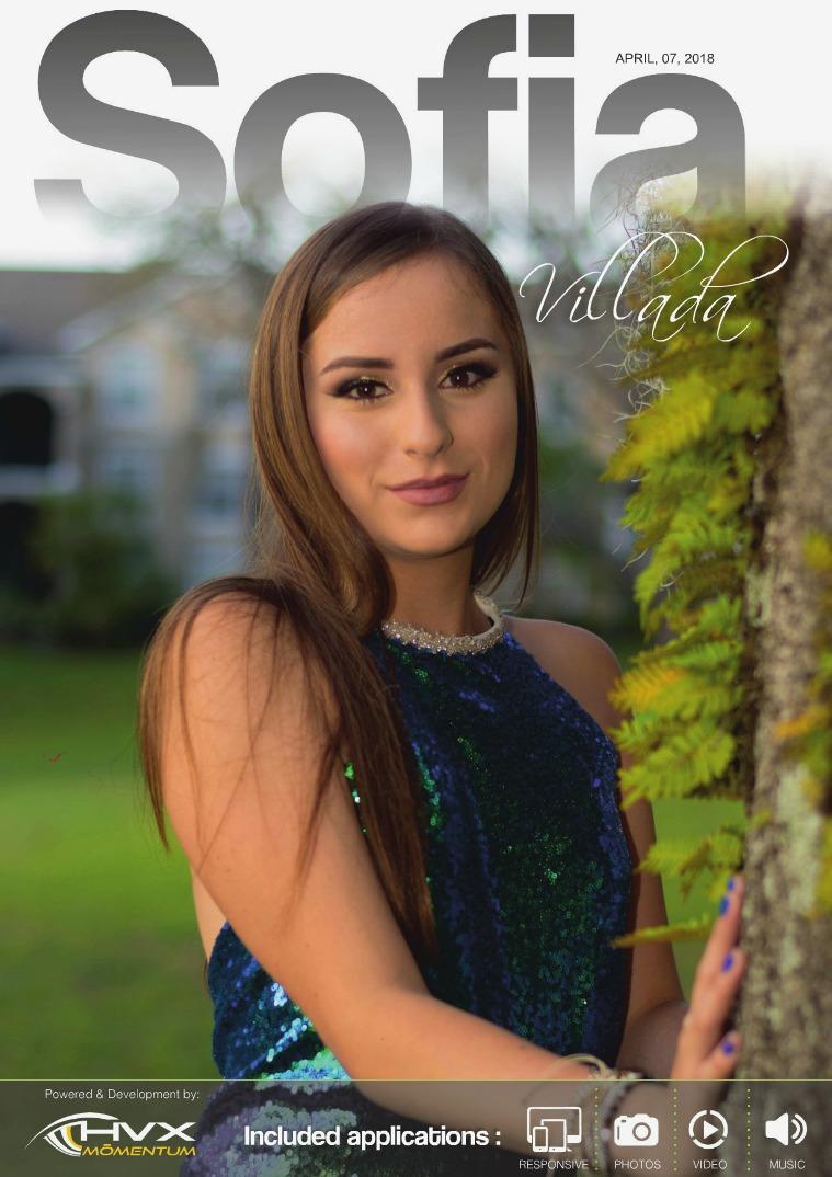 Sofia Villada SOFIA VILLADA (15 years)