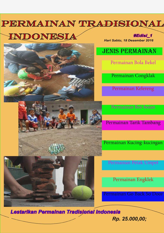 Permainan Tradisional Indonesia Traditional Games