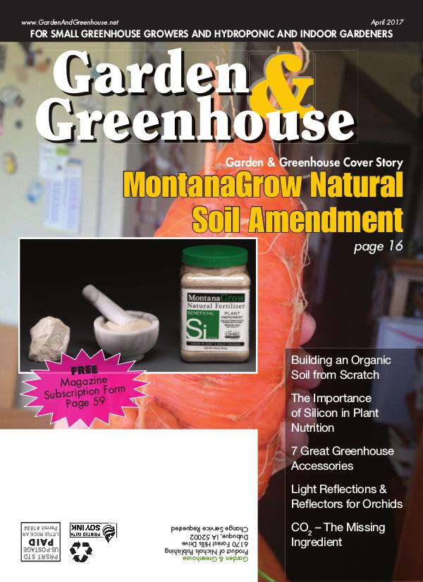 Garden & Greenhouse April 2017 Issue