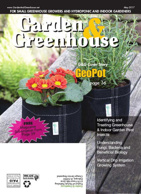 Garden & Greenhouse May 2017 Issue