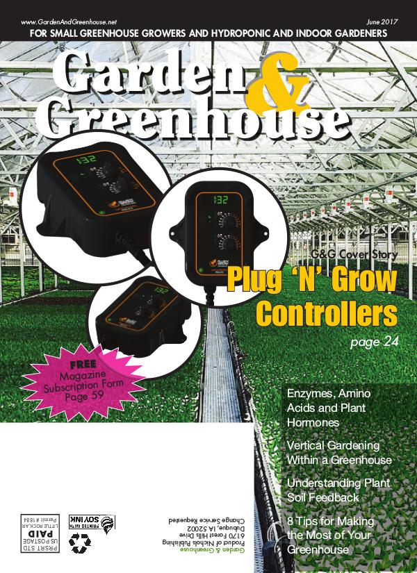 Garden & Greenhouse June 2017 Issue