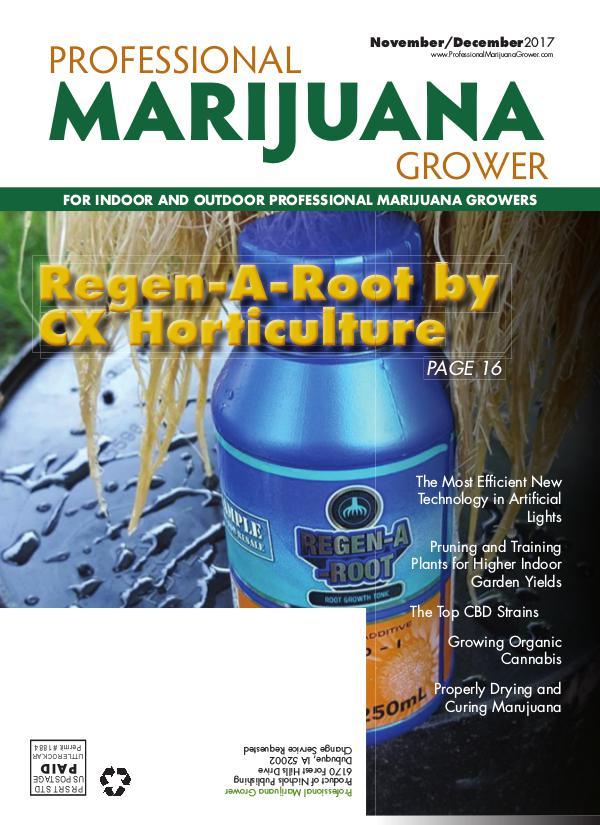 Professional Marijuana Grower November-December 2017 Issue