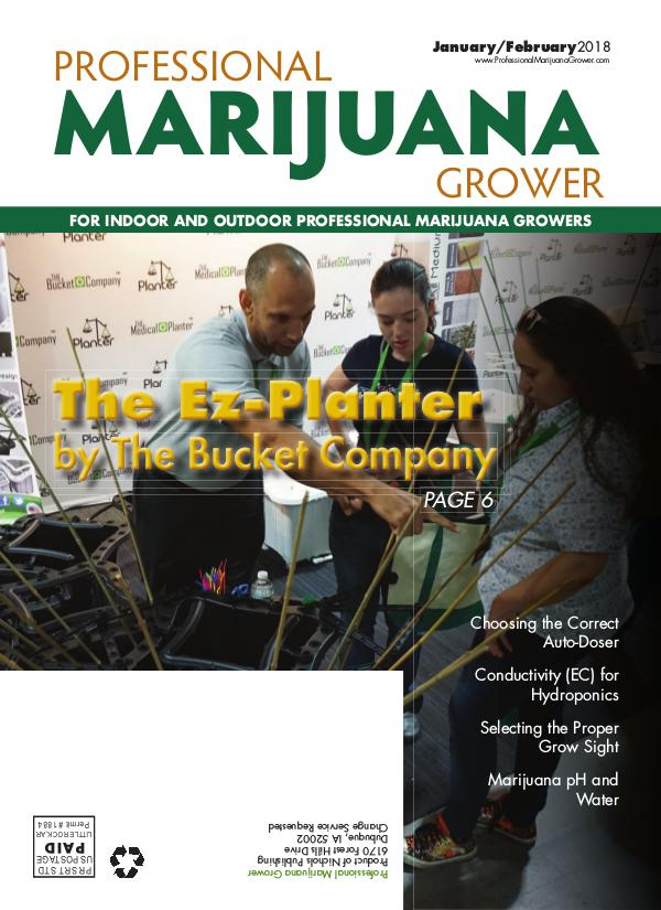 Professional Marijuana Grower January-February 2018 Issue