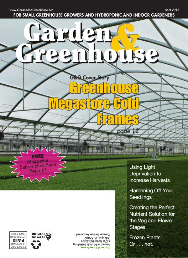 Garden & Greenhouse April 2018 Issue