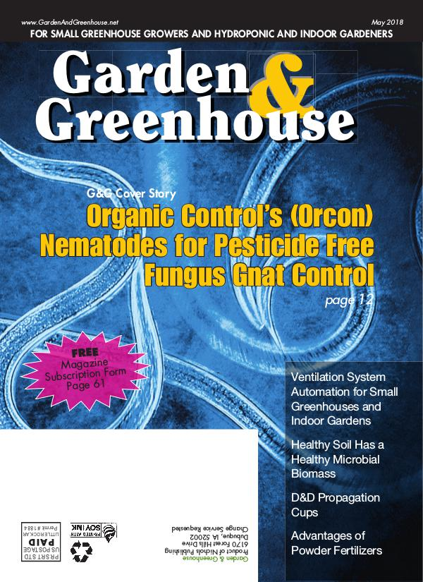 Garden & Greenhouse May 2018 Issue
