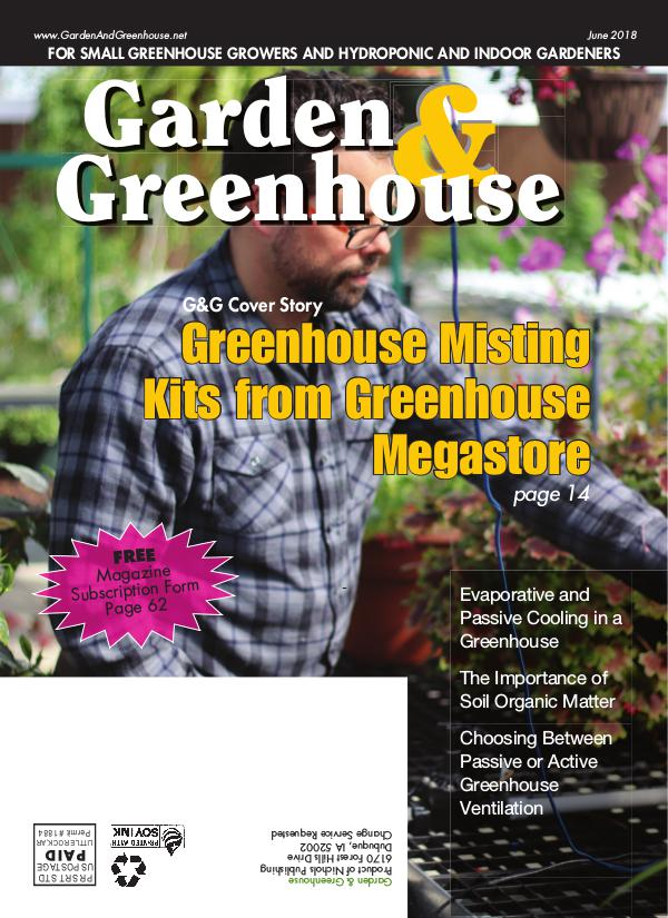Garden & Greenhouse June 2018 Issue