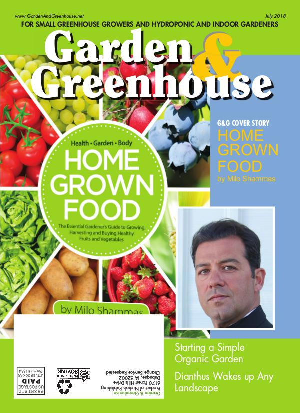 Garden & Greenhouse July 2018 Issue