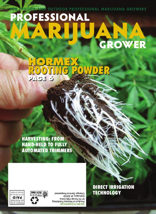 Professional Marijuana Grower July-August 2018 Issue