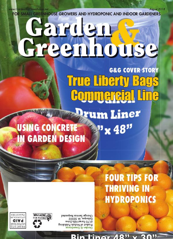 Garden & Greenhouse August 2018 Issue