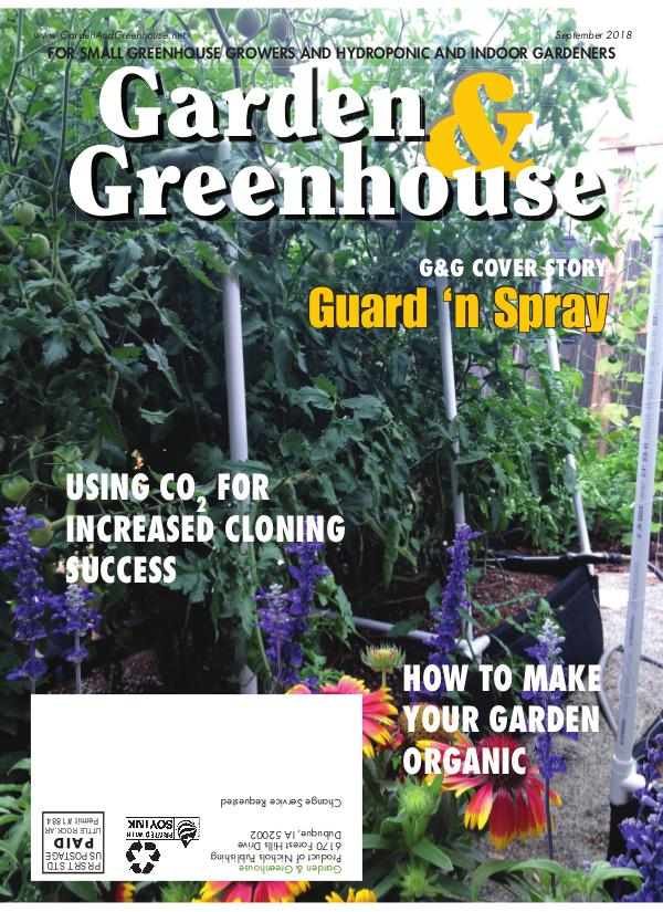 Garden & Greenhouse September 2018 Issue