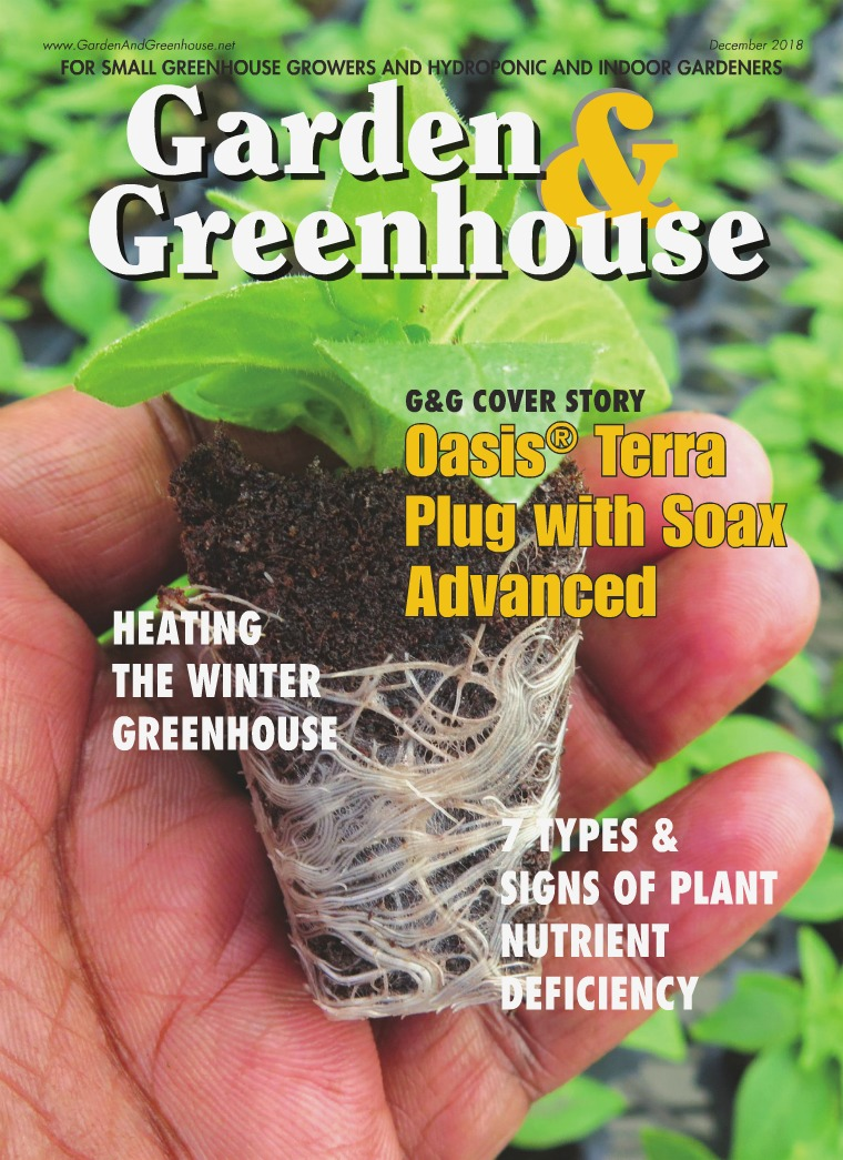 Garden & Greenhouse December 2018 Issue