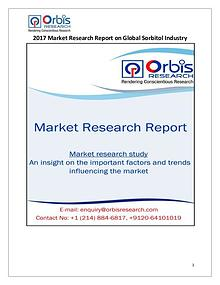 Global Sorbitol Market 2017 Industry