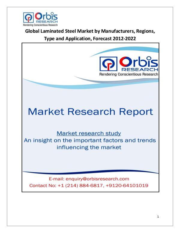 Global Laminated Steel Market by Manufacturers
