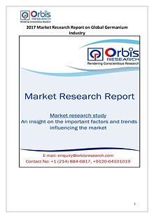 Global Germanium Industry 2017 Market Research Report
