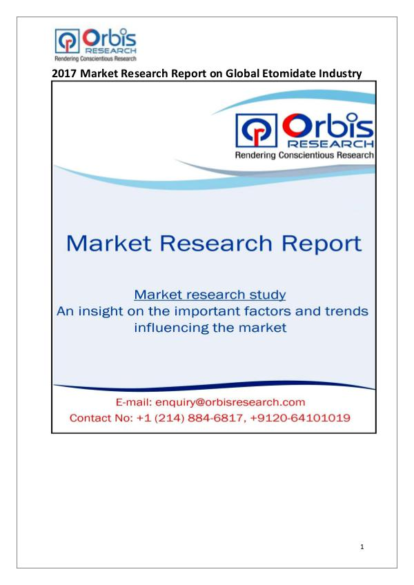 Global Carbidopa Industry 2017 Market Research Report Global Carbidopa Industry 2017