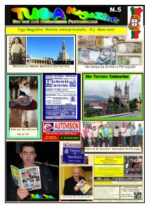 Tuga Magazine N.17 - Junho 2011 Tuga Magazine  N.5 - Maio 2010