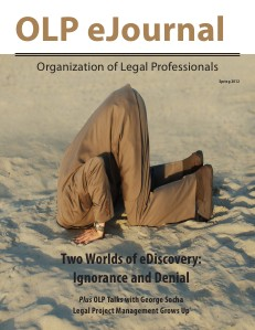 KNOW The Magazine for Paralegals OLP.eJournal.Spring 2012