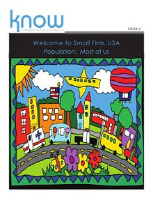 KNOW, The Magazine for Paralegals Fall 2012