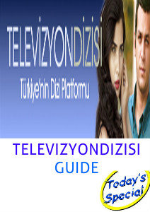 MURAT YILDIRIM IN THE ARABIC MAGAZINES TELEVIZYONDIZISI GUIDE