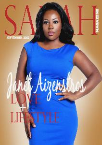 SARAHMAGAZINE SARAH MAGAZINE SEPTEMBER ISSUE