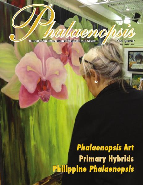 Phalaenopsis Journal First Quarter 2014