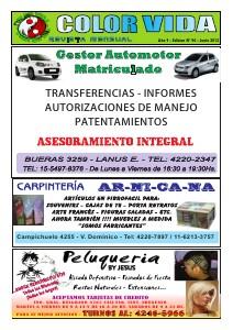 Color Vida Guia de comercios y servicios Jun. 2013