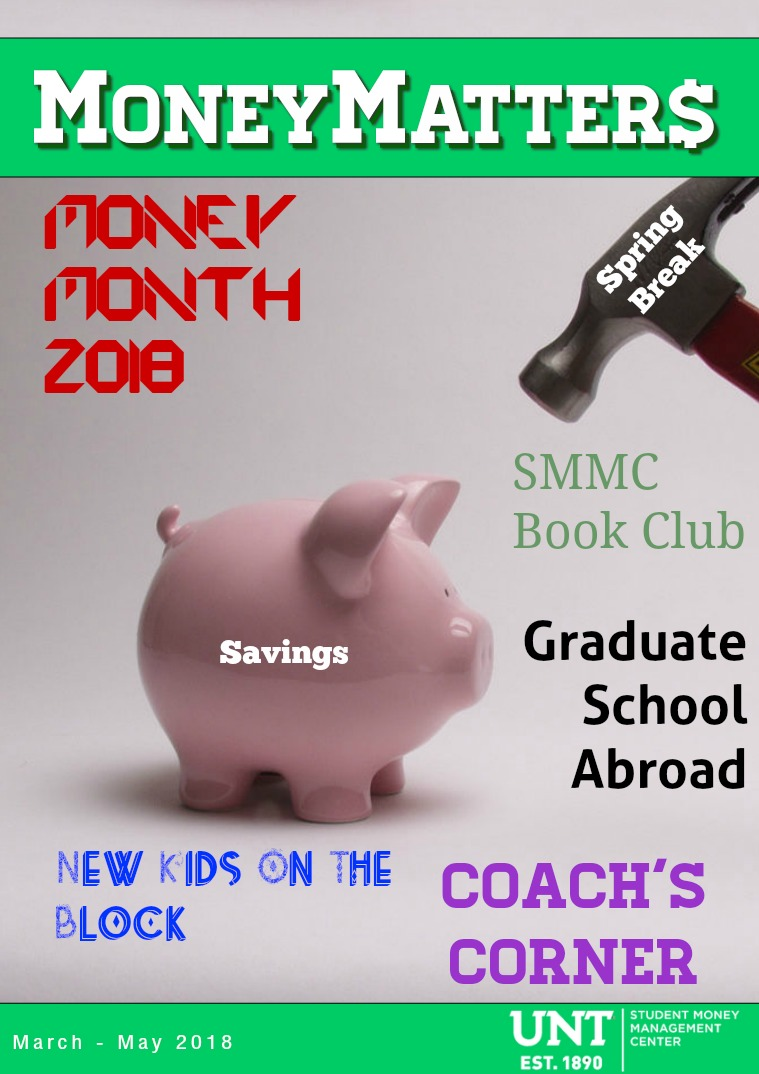 Money Matters March '18- May '18