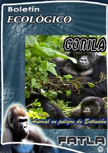 El Gorila - Especie en Extinción Gorila I