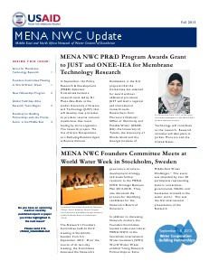 MENA NWC Update Fall 2013