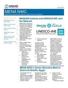 MENA NWC Update