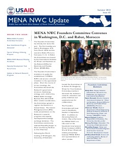 MENA NWC Update Summer 2013