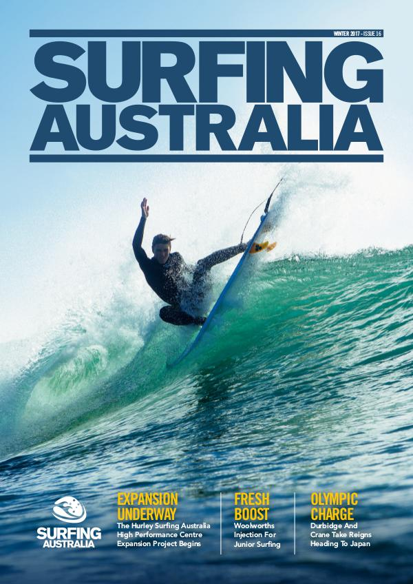 Surfing Australia News Winter 2017