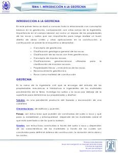 Tema 1. Introducción a la Geotecnia V.1. Jul. 2013
