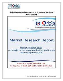 Medical Devices Market Research Report Latest Report on Global Drug Pump Sales Market   2