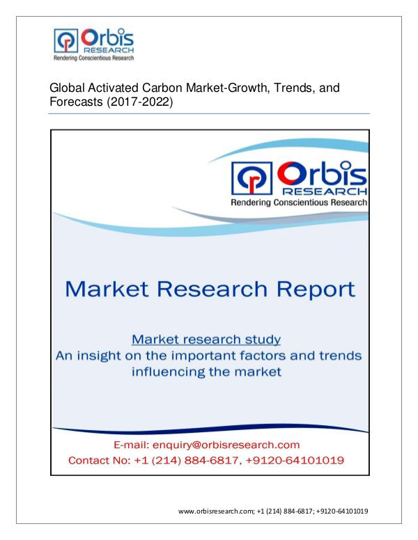 Chemical and Materials Market Research Report Global Activated Carbon Market-Growth, Trends, and