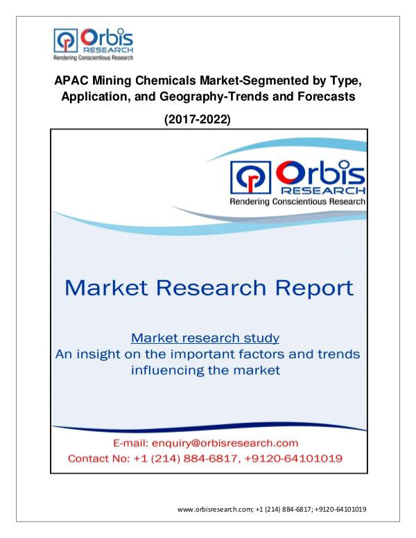 Chemical and Materials Market Research Report Identification And Analysis Of The Macro And Micro
