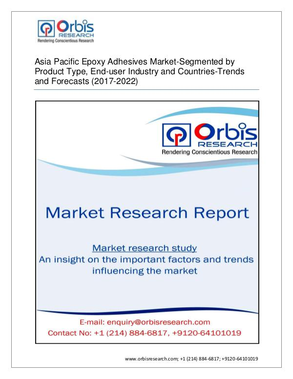 Chemical and Materials Market Research Report Asia Pacific Epoxy Adhesives  Market by Applicatio