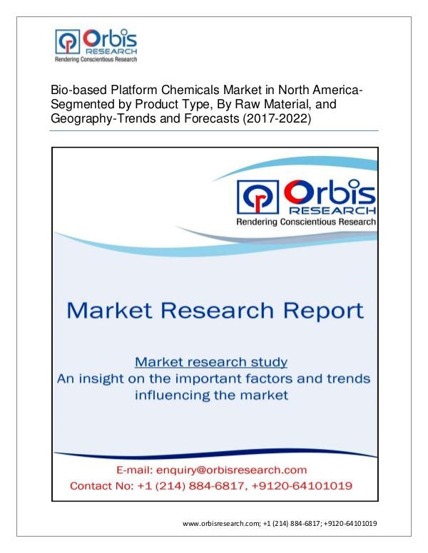 Chemical and Materials Market Research Report North America Bio-based Platform Chemicals Market-