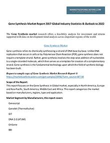Gene Synthesis Market