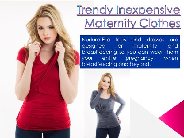 Clothes for easy breastfeeding Clothes for easy breastfeeding