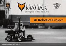 Project MANAS Sponsorship Brochure
