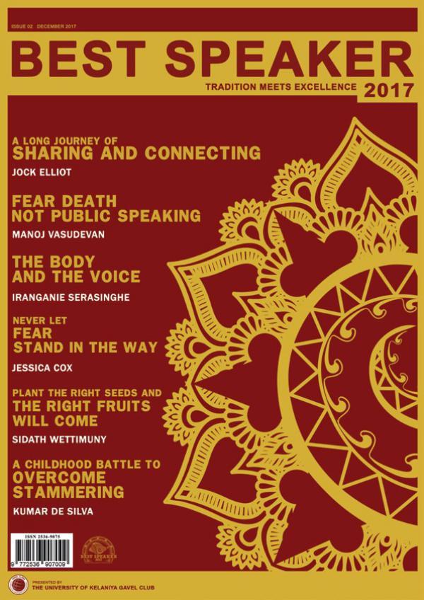 Best speaker Magazine Issue 2 - December 2017