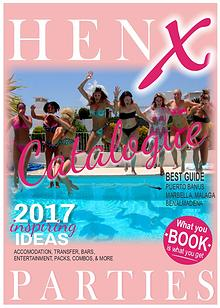 HenX parties catalogue 2017
