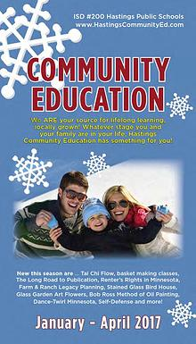 2017 Winter Catalog - Hastings Community Education