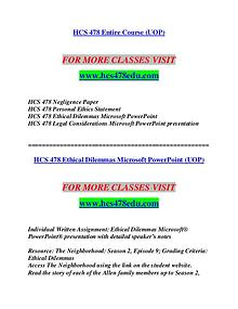 HCS 478 EDU Invent Yourself/hcs478edu.com