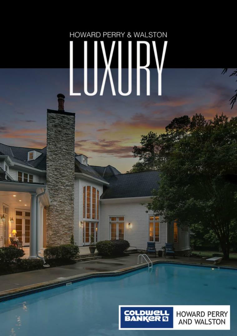 HPW Luxury Magazine August 2017