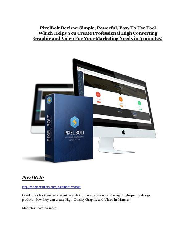 Marketing PixelBolt Review - (FREE) Bonus of PixelBolt