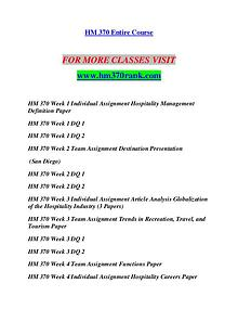 HM 370 RANK Invent Yourself/hm370rank.com
