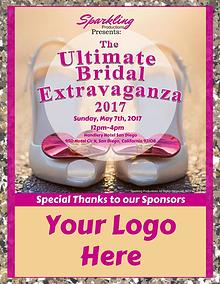 Prospectus for The Ultimate Bridal Extravaganza 2017